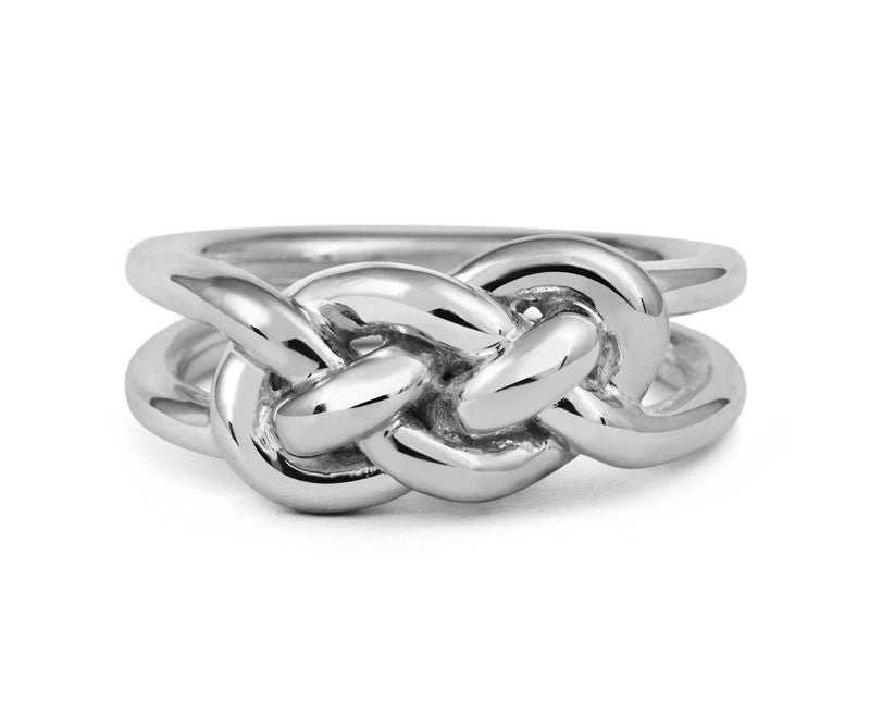 Entwined Knot Ring - CRED Jewellery - Fairtrade Jewellery - 2