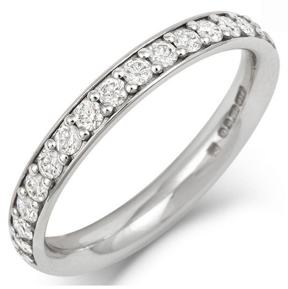 Classic Pave Eternity - CRED Jewellery - Fairtrade Jewellery - 1
