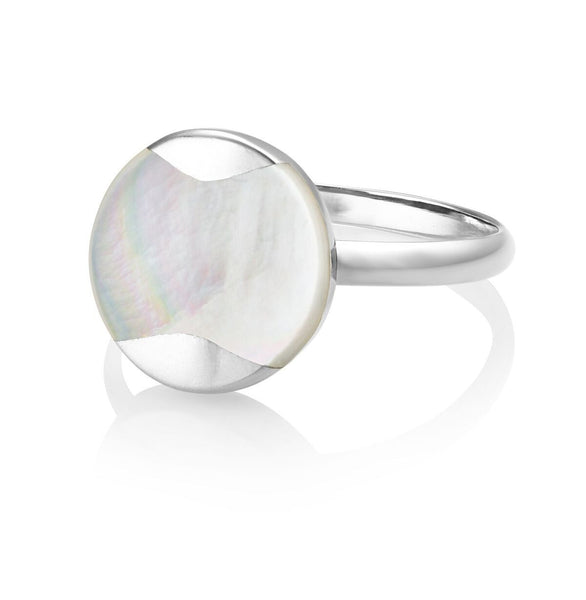 Jersey Pearl Silver Dune Ring