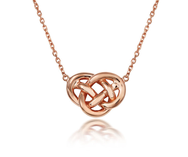 Love Knot Necklace - CRED Jewellery - Fairtrade Jewellery - 1