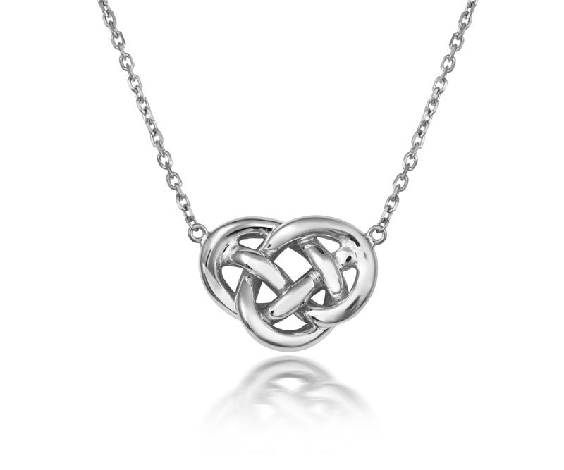 Love Knot Necklace - CRED Jewellery - Fairtrade Jewellery - 2