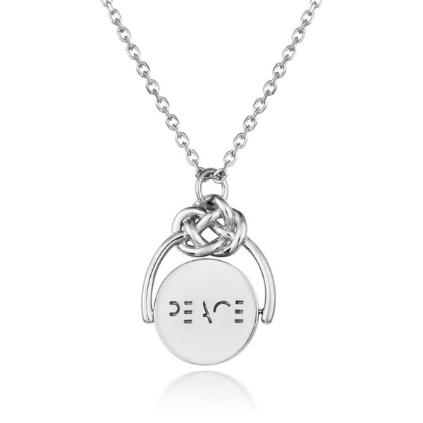 Love Knot Spinner - Peace - CRED Jewellery - Fairtrade Jewellery - 3