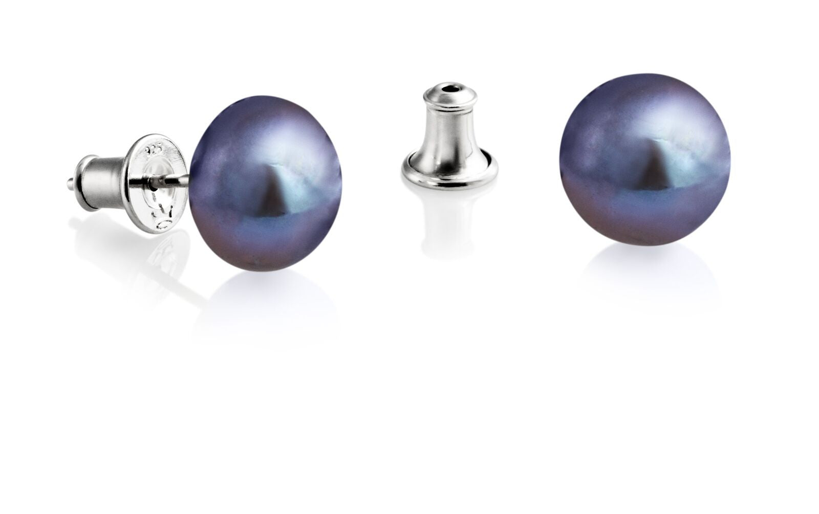Jersey Pearl Peacock Stud (10.5mm) Earrings