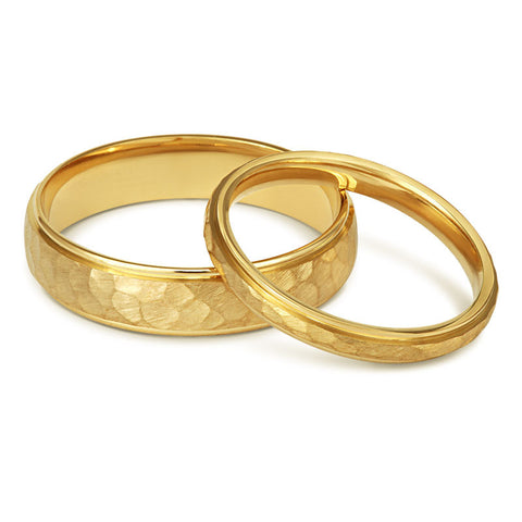 Elements Wedding Ring - Yellow, White or Rose Gold (18ct) or Platinum