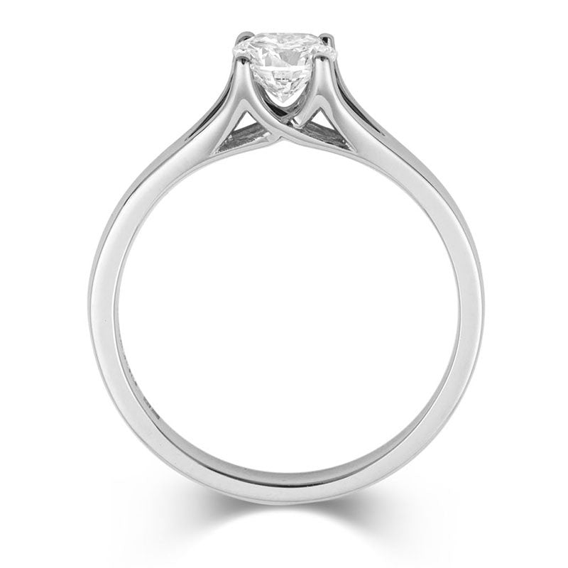 Brilliant Enfold Solitaire Ring - CRED Jewellery - Fairtrade Jewellery - 3