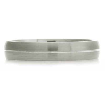 Engraved Court Wedding Ring - CRED Jewellery - Fairtrade Jewellery - 3