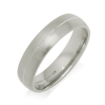 Engraved Court Wedding Ring - CRED Jewellery - Fairtrade Jewellery - 4