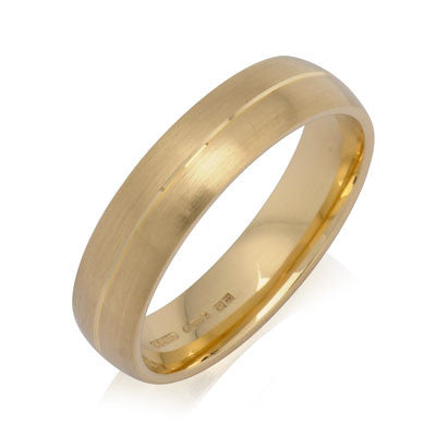 Engraved Court Wedding Ring - CRED Jewellery - Fairtrade Jewellery - 5