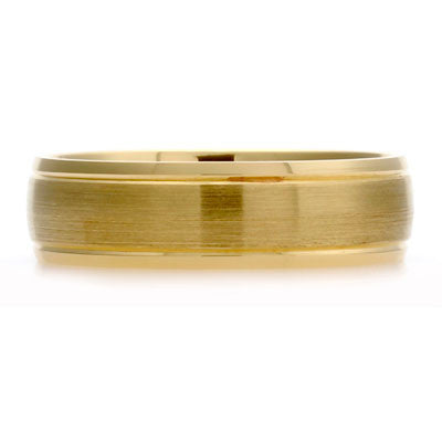 Outer Engraved Court Wedding Ring with Dual-Tone Finish - CRED Jewellery - Fairtrade Jewellery - 5