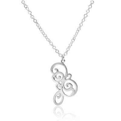 Hanga entwined pendant - CRED Jewellery - Fairtrade Jewellery - 1