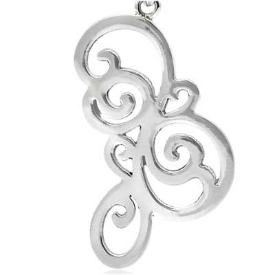 Hanga entwined pendant - CRED Jewellery - Fairtrade Jewellery - 3