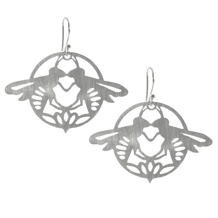 Double Bee Earrings