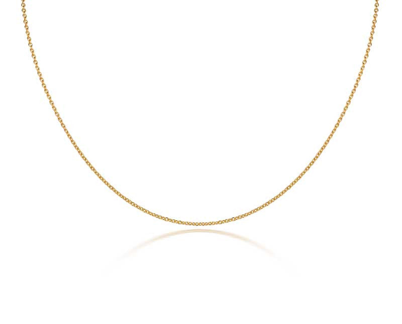 Fairtrade Gold plated Chain - CRED Jewellery - Fairtrade Jewellery - 1