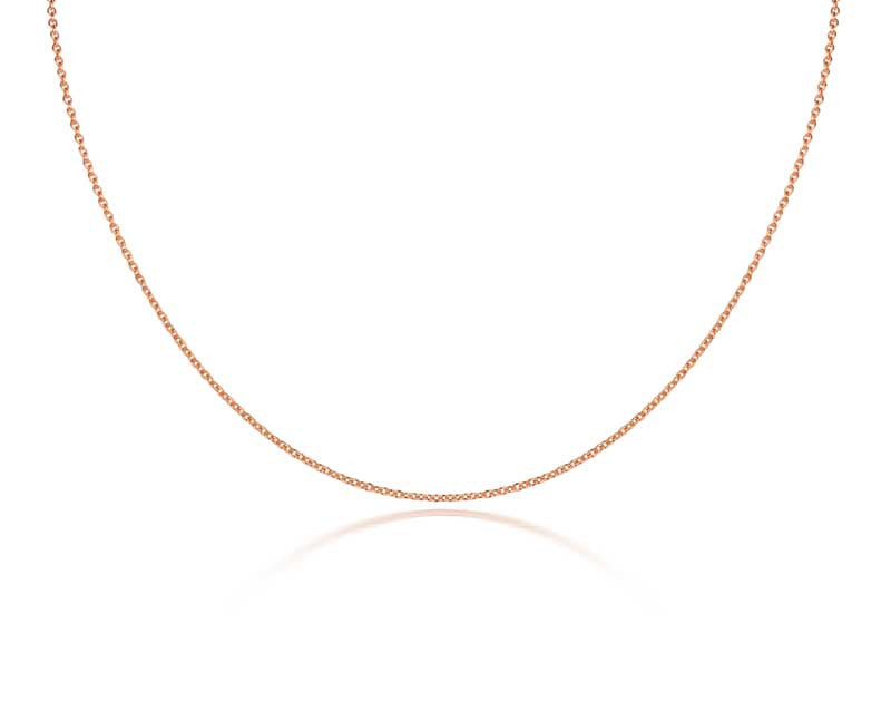 Fairtrade rose gold plated chain - CRED Jewellery - Fairtrade Jewellery - 1