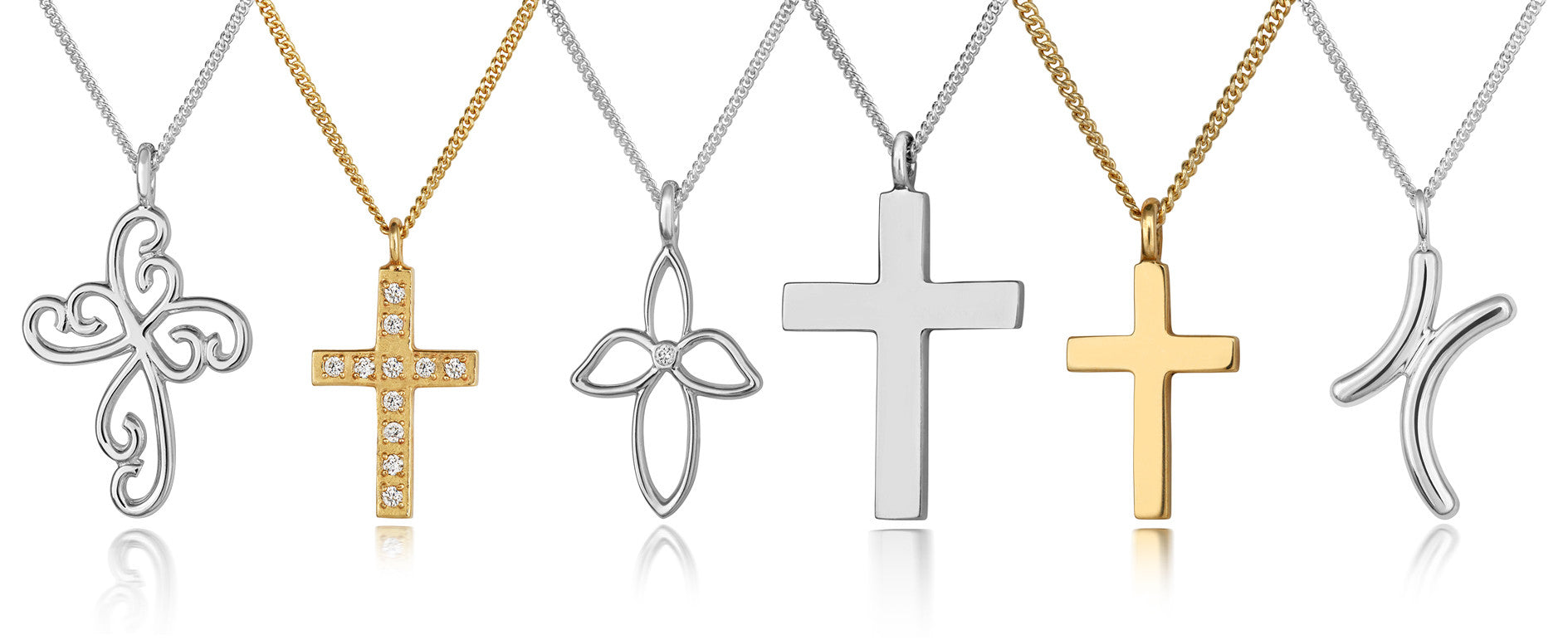 Silver Petite Cross Pendant - CRED Jewellery - Fairtrade Jewellery - 2