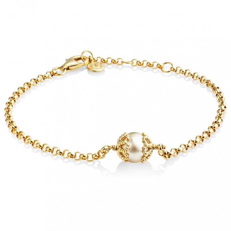 Filigree Pearl Bracelet - CRED Jewellery - Fairtrade Jewellery - 2
