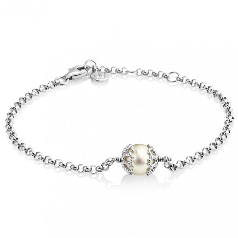 Filigree Pearl Bracelet - CRED Jewellery - Fairtrade Jewellery - 1