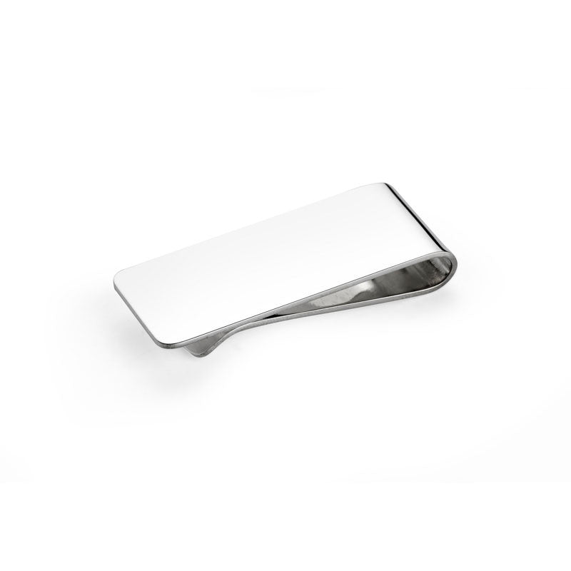 Plain Silver Money Clip - CRED Jewellery - Fairtrade Jewellery - 1