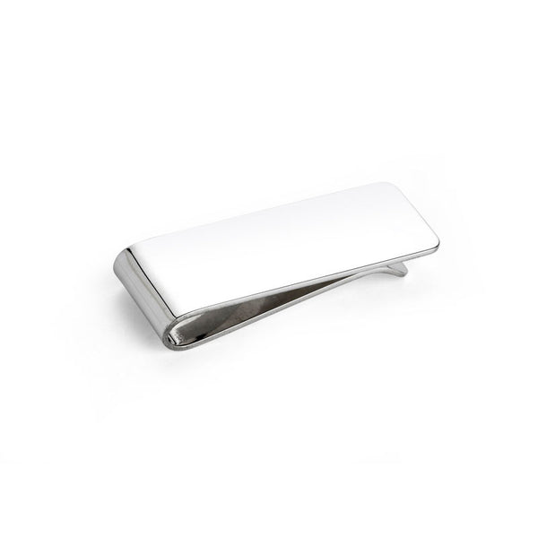 Plain Silver Money Clip - CRED Jewellery - Fairtrade Jewellery - 2