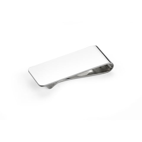 Plain Silver Money Clip