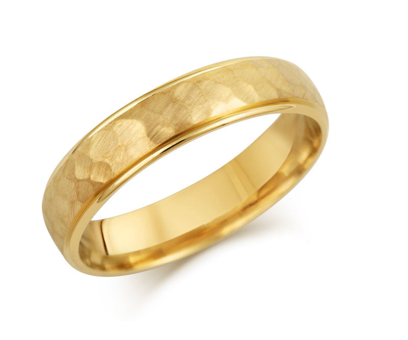Elements Wedding Ring- Yellow or White Gold (18ct) or Platinum - CRED Jewellery - Fairtrade Jewellery - 3