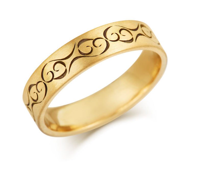 Celtic Love Wedding Ring - CRED Jewellery - Fairtrade Jewellery - 3