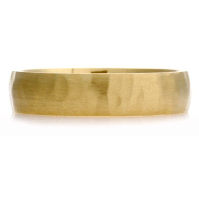 Court Hammered Wedding Ring - CRED Jewellery - Fairtrade Jewellery - 7