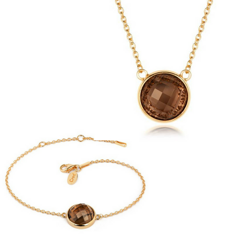 Iconic Loren Bracelet and Pendant Set