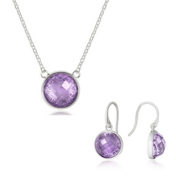 Iconic Onassis Pendant and Earring Set - CRED Jewellery - Fairtrade Jewellery