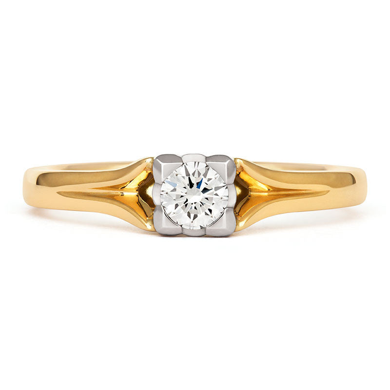 Kalla Solitaire Ethical Engagement Ring - CRED Jewellery - Fairtrade Jewellery - 2