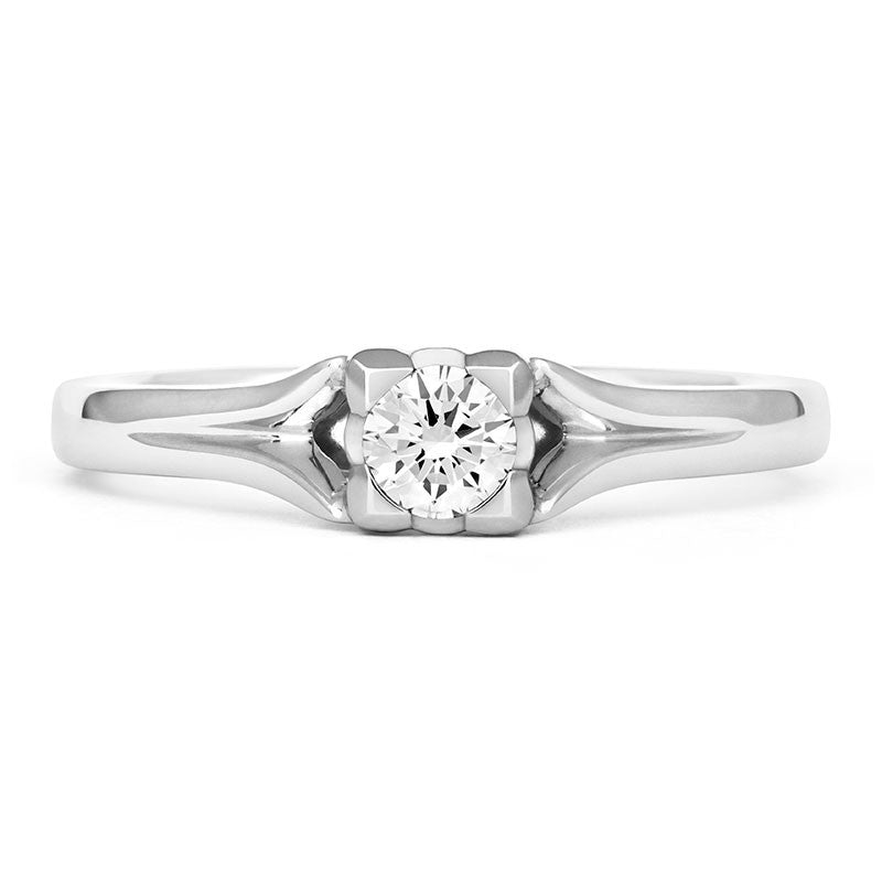Kalla Solitaire Ethical Engagement Ring - CRED Jewellery - Fairtrade Jewellery - 6