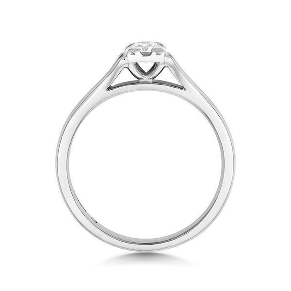 Kalla Solitaire Ethical Engagement Ring - CRED Jewellery - Fairtrade Jewellery - 7