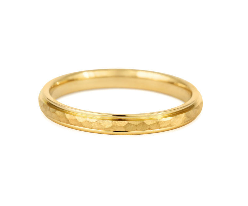 Elements Wedding Ring- Yellow or White Gold (18ct) or Platinum - CRED Jewellery - Fairtrade Jewellery - 4