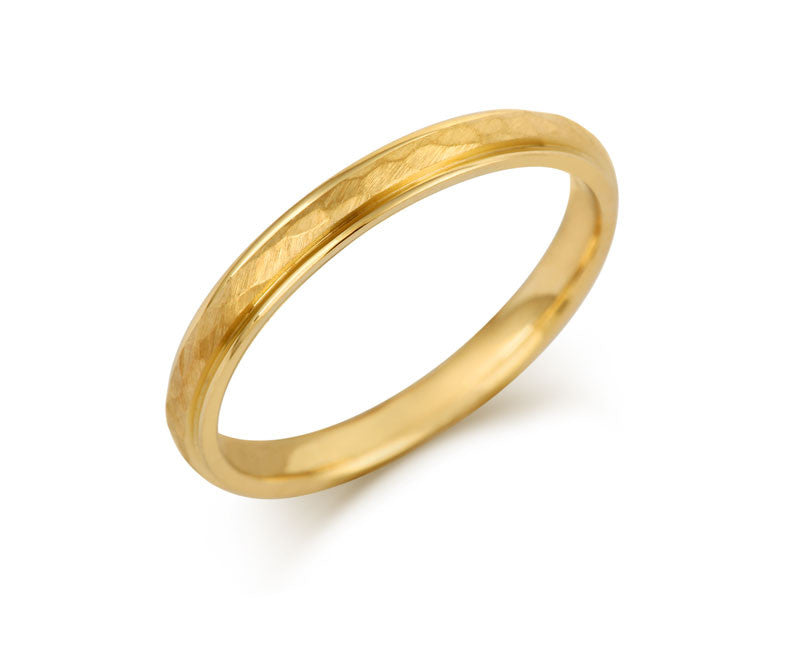 Elements Wedding Ring- Yellow or White Gold (18ct) or Platinum - CRED Jewellery - Fairtrade Jewellery - 5