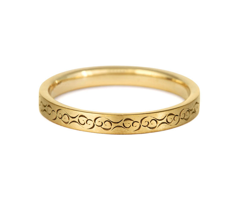 Celtic Love Wedding Ring - CRED Jewellery - Fairtrade Jewellery - 4