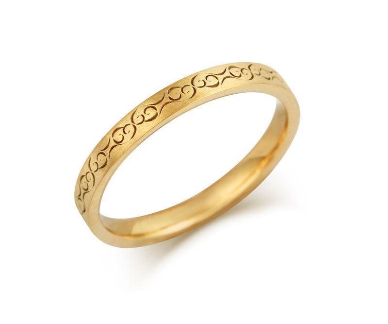 Celtic Love Wedding Ring - CRED Jewellery - Fairtrade Jewellery - 6