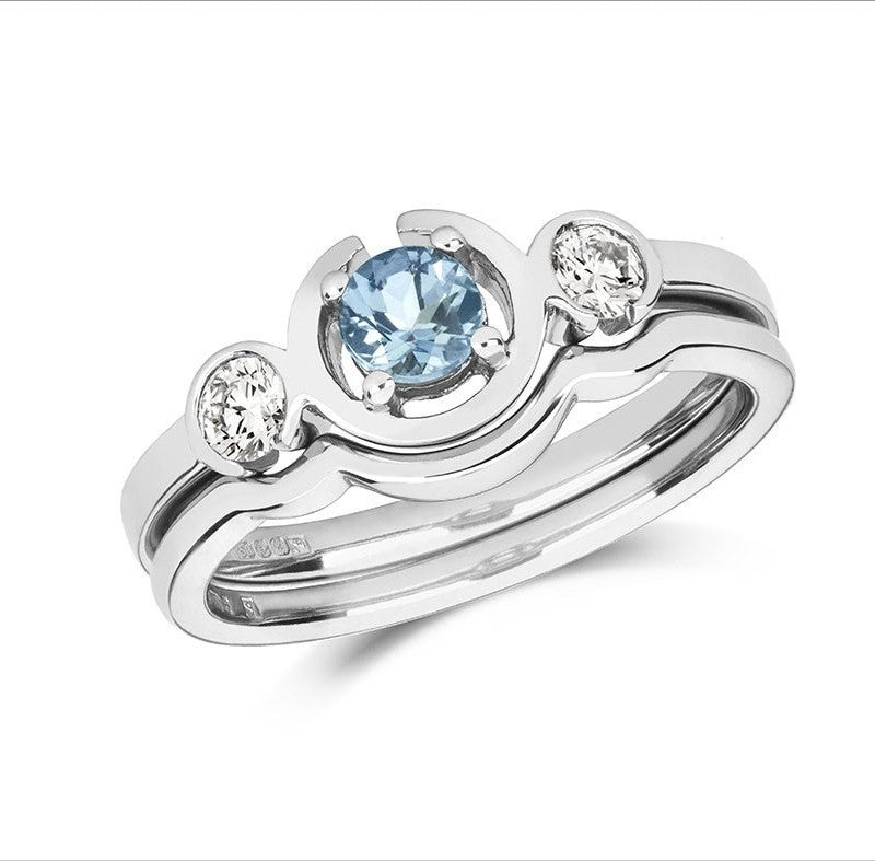 Le Trois Wedding Ring - CRED Jewellery - Fairtrade Jewellery - 2