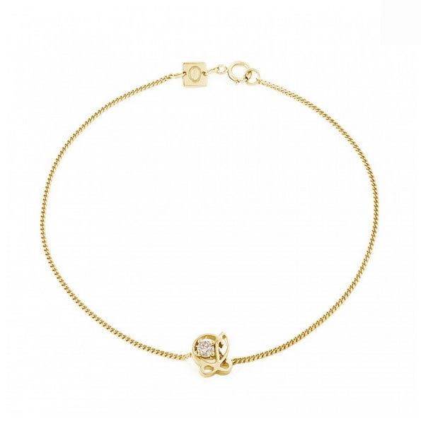 L is for Love Bracelet - CRED Jewellery - Fairtrade Jewellery