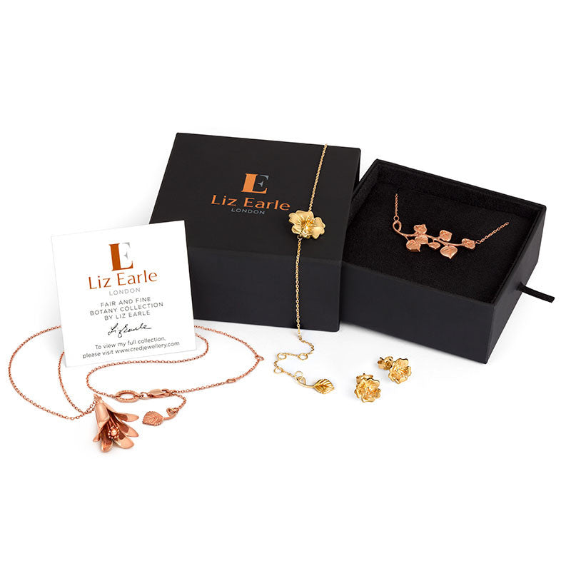 Liz Earle Ivy Necklace - CRED Jewellery - Fairtrade Jewellery - 3