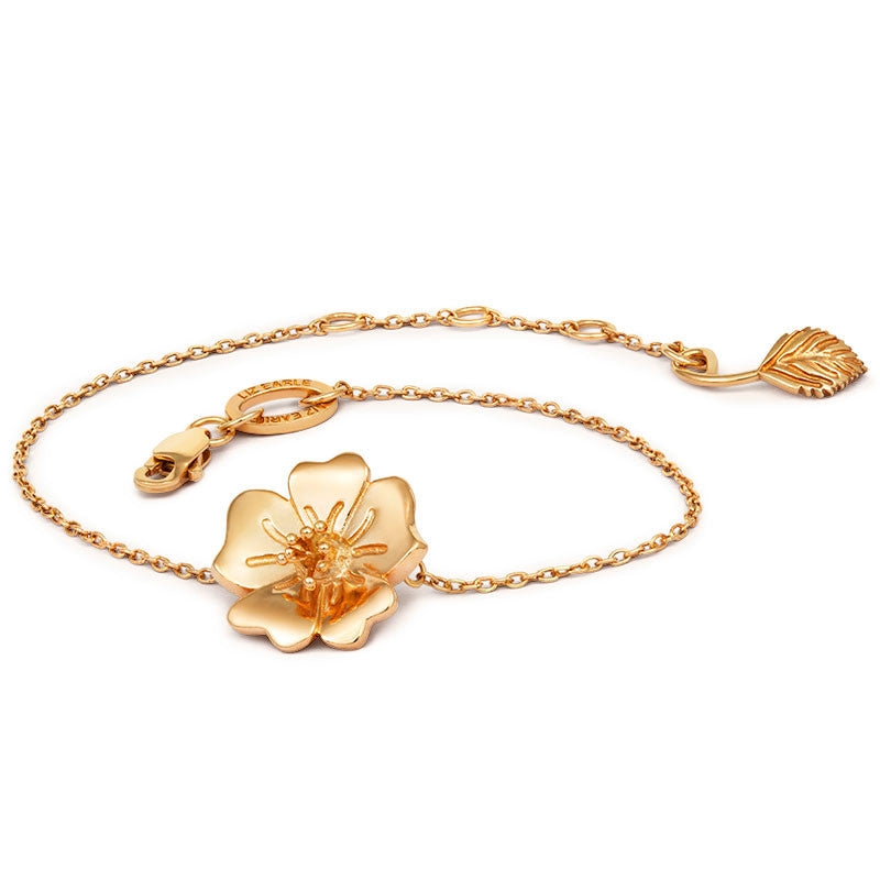 Liz Earle Wild Rose Bracelet - CRED Jewellery - Fairtrade Jewellery - 1