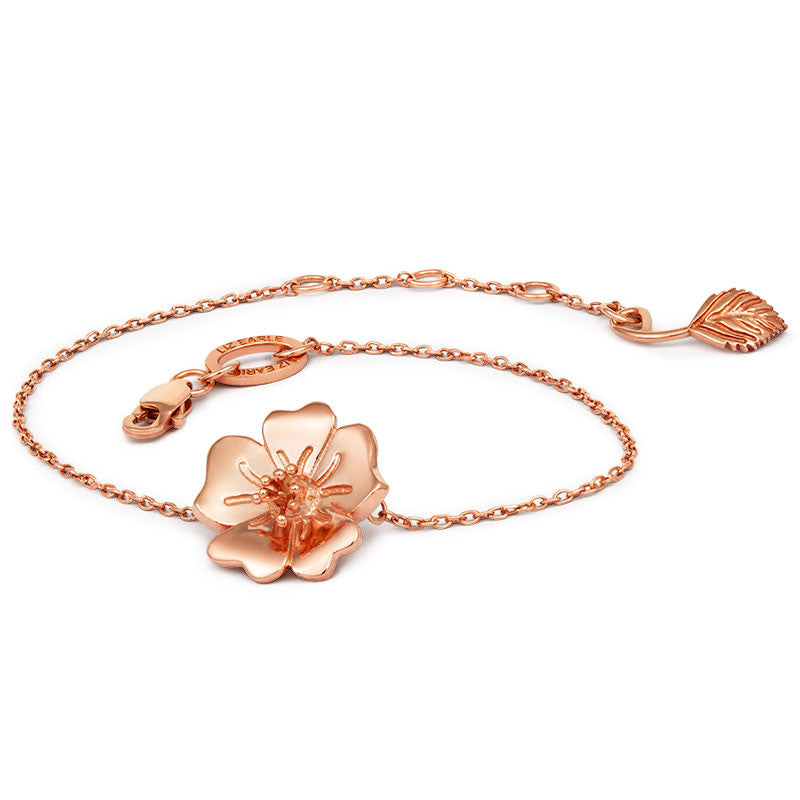 Liz Earle Wild Rose Bracelet - CRED Jewellery - Fairtrade Jewellery - 2
