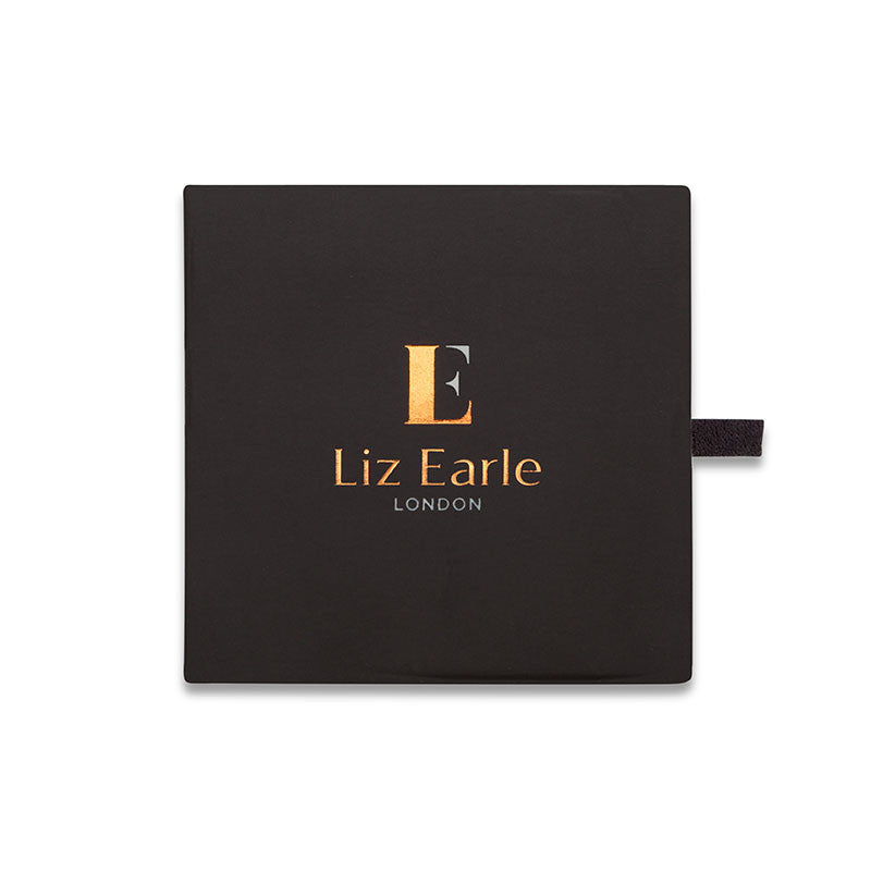 Liz Earle Wild Rose Stud Earrings with Adaptagem leaf drops - CRED Jewellery - Fairtrade Jewellery - 5