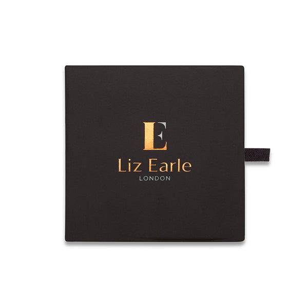 Liz Earle Wild Rose Stud Earrings with Adaptagem leaf and crystal drops - CRED Jewellery - Fairtrade Jewellery - 9