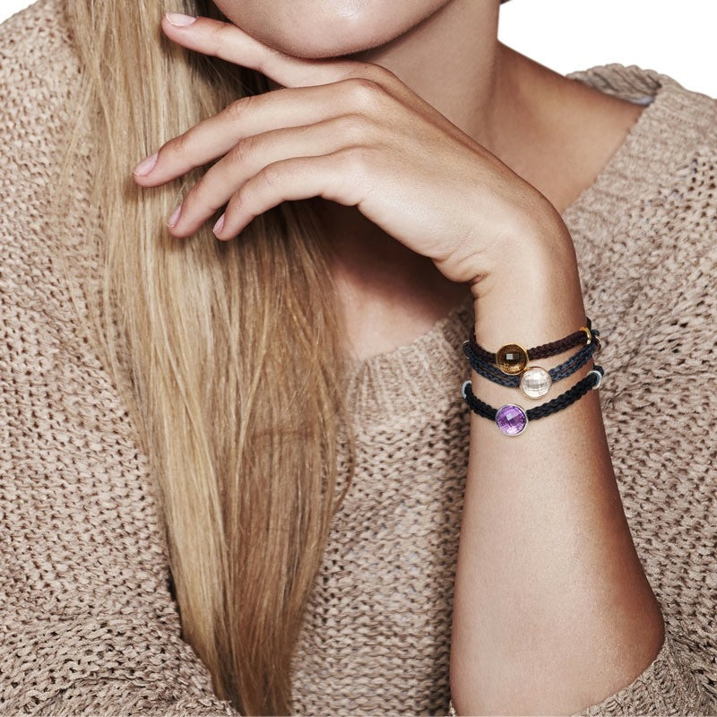 Iconic Onassis Cord Bracelet - CRED Jewellery - Fairtrade Jewellery - 4
