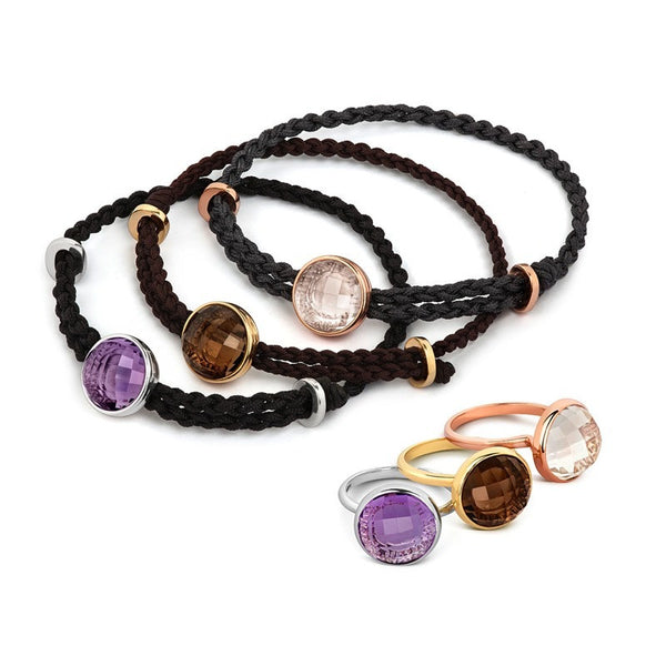 Iconic Munroe Cord Bracelet - CRED Jewellery - Fairtrade Jewellery - 3