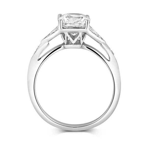 Luminous Solitaire Ethical Engagement Ring - CRED Jewellery - Fairtrade Jewellery - 3