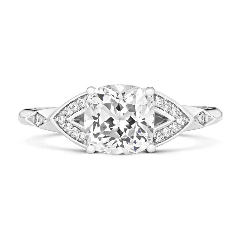 Luminous Solitaire Ethical Engagement Ring - CRED Jewellery - Fairtrade Jewellery - 2