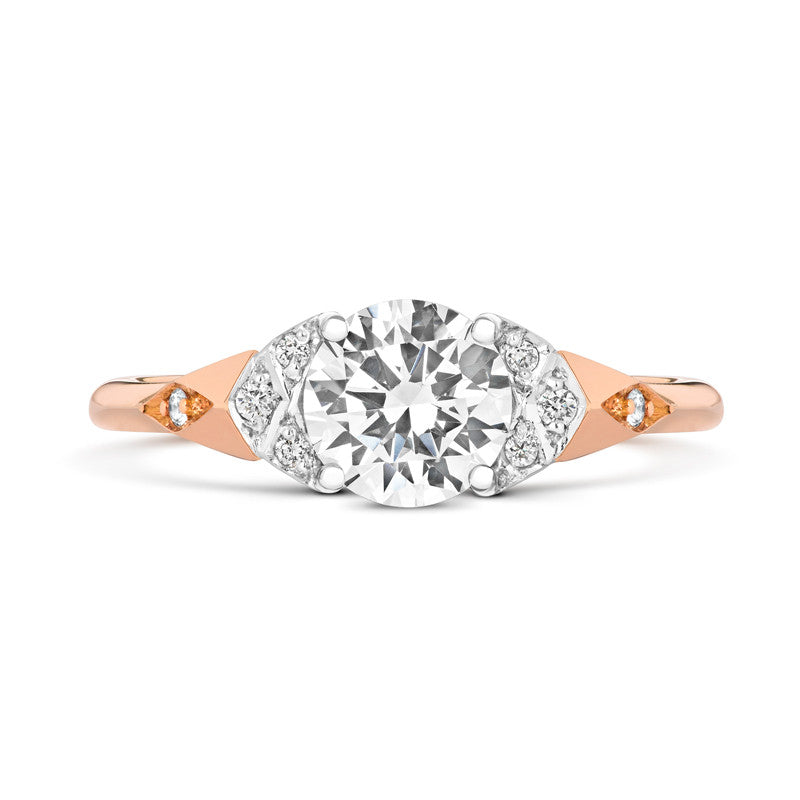 Luna Solitaire Ethical Engagement Ring - CRED Jewellery - Fairtrade Jewellery - 3