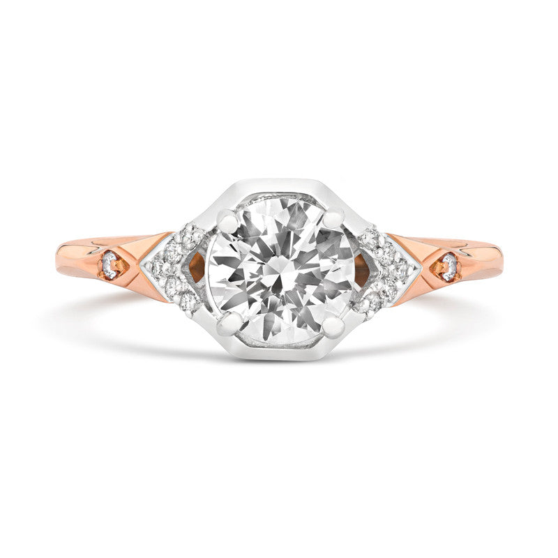 Luci Solitaire Ethical Engagement Ring - CRED Jewellery - Fairtrade Jewellery - 2
