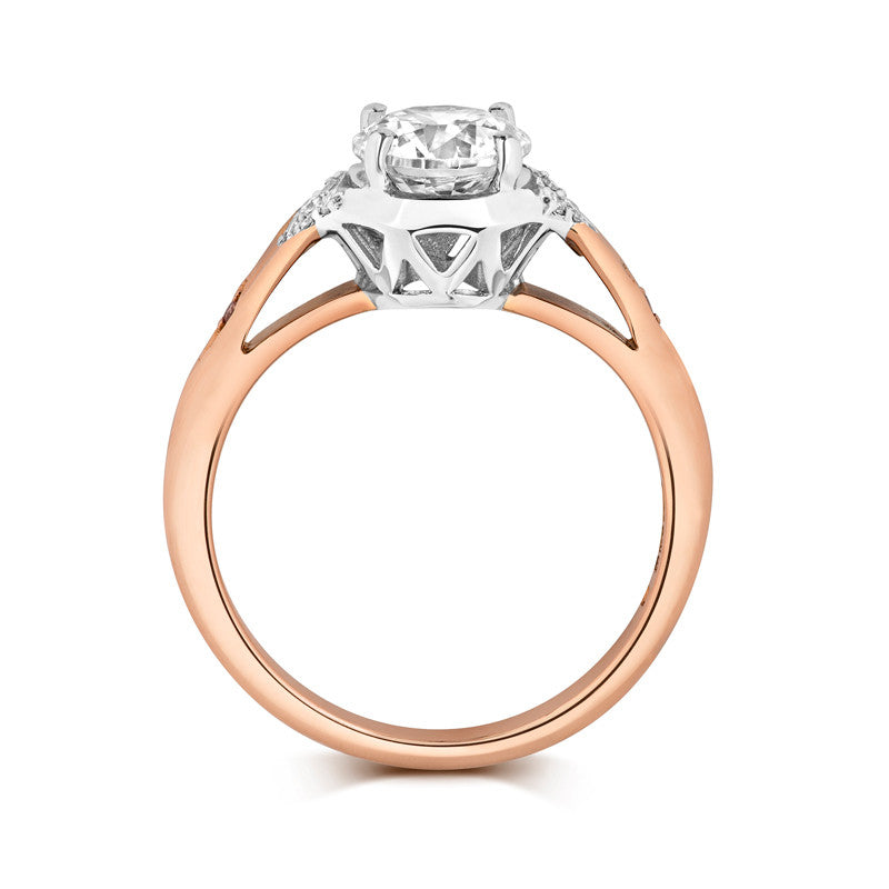Luci Solitaire Ethical Engagement Ring - CRED Jewellery - Fairtrade Jewellery - 3